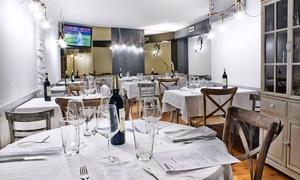 Florman: Menú para 2 o 4 con entrante, principal de arroz, postre, botella de vino desde 34,95 € en Florman