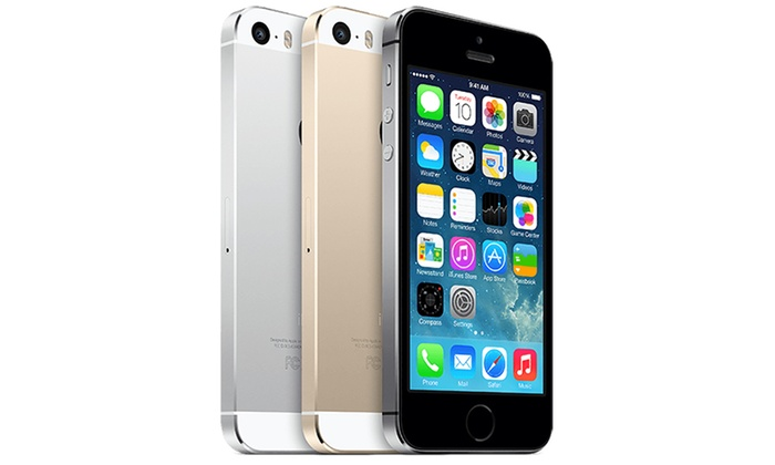 iphone 5s 16 32go reconditionn groupon shopping. Black Bedroom Furniture Sets. Home Design Ideas