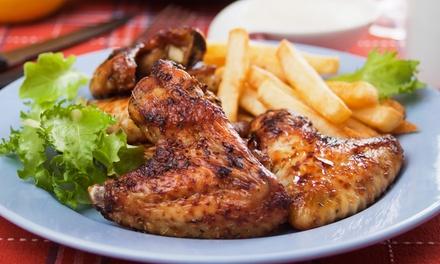 Burger créole, spare ribs ou poulet rôti entieravec 1 ou 2 accompagnement à emporterdès 4 € à La Rôtisserie De Paquita