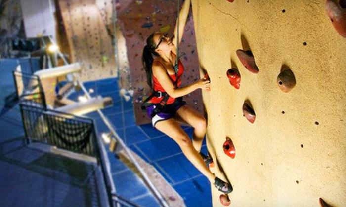 Hangar 18 Indoor Climbing Gyms - Hangar 18 Riverside: $10 Worth of Indoor Climbing
