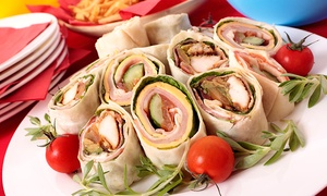 Romaine Greens & Grill: $7 for $10 Worth of Sandwiches and Salads for Delivery or Pickup at Romaine Greens & Grill