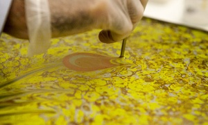 Turkish Cultural Center New York: One Beginners Ebru Art Class for One or Two People at Turkish Cultural Center New York (Up to 55% Off)