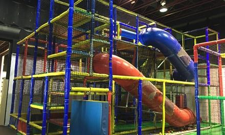 Entrada de 2 horas al parque Divertilandia y todas sus actividades para 1 o 2 niños (hasta 56% de descuento)