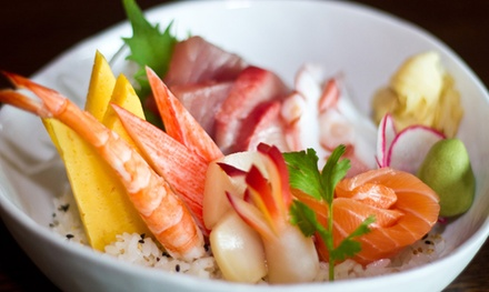 Japanese Cuisine for Two or Four at Sushi Rock (40% Off)
