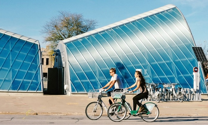 Des Moines BCycle - Multiple Locations: 24-Hour, Monthly, or Yearly Membership Passes from Des Moines BCycle (Up to 58% Off)