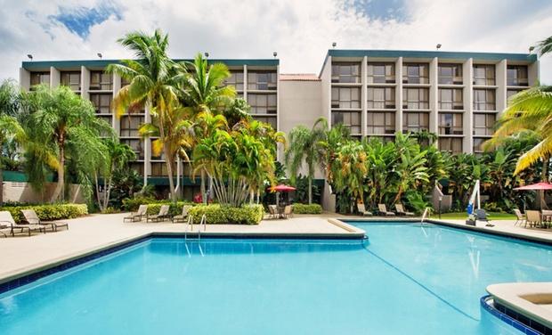 Ramada West Palm Beach Airport Hotel - West Palm Beach, FL: Stay at Ramada West Palm Beach Airport Hotel in West Palm Beach, FL, with Dates into December