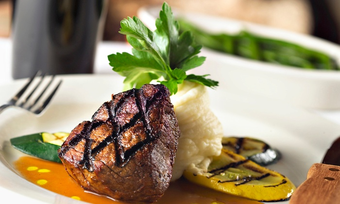 Jake's Bistro - Alachua: Dinner or Take-Out Dinner for Two with an Appetizer, Entrees, and a Dessert at Jake's Bistro ($24.47 Off)