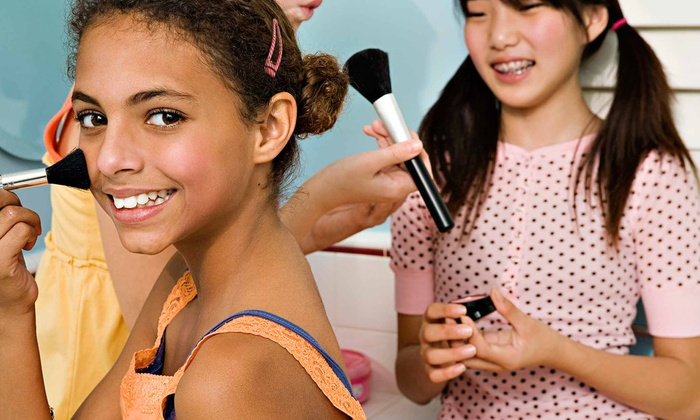 Sweet & Sassy - Southwestern Perth Amboy: Glittery Glam Express Spa Package or Ultimate Makeover for One or Two Kids at Sweet & Sassy (Up to 53% Off)