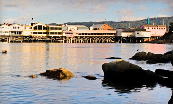 Monterey Waterfront & Cannery Row Tours - InterContinental The Clement Monterey Main Lobby: Historical Walking Tour for Two or Four from Monterey Waterfront & Cannery Row Tours (Up to 56% Off)