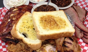 Pig City BBQ: $20 for $37 Worth of Barbecue — Pig City BBQ
