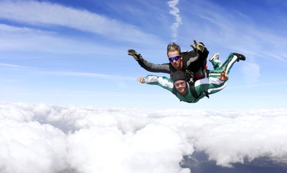 Tandem Skydive For One Person for £229 at Paragon Skydiving Club
