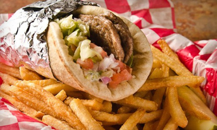Lou & Harry's Grill - Okemos: $8 for $16 Worth of Gyros, Burgers, and Subs at Lou & Harry's Grill