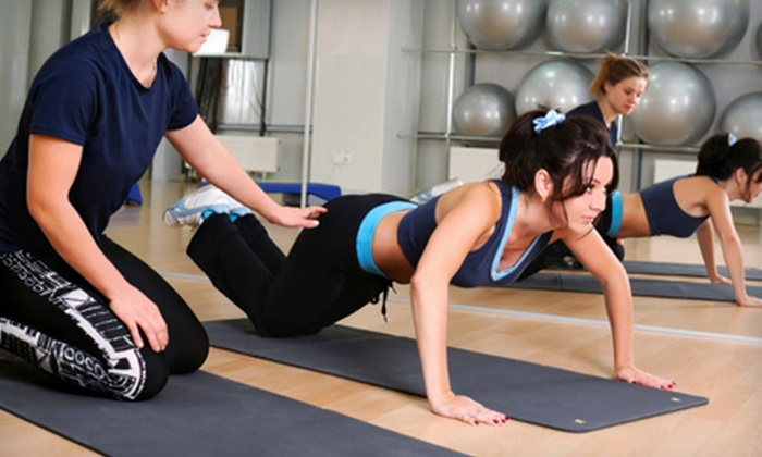 MI Fitness - Brighton: Four or Eight Personal-Training Sessions with Guided Cardio at MI Fitness (Up to 60% Off)