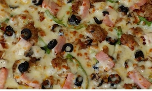 3 Guys Pizza Pies - Kent: One Large Pizza at 3 Guys Pizza Pies (45% Off)