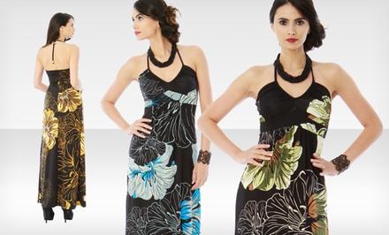 Classique maxi dress