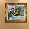 Framed Hand-Painted Still-Life Artwork