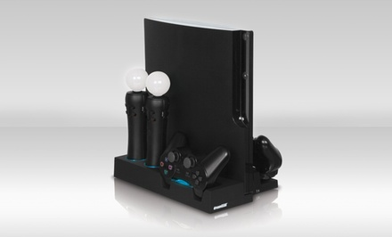 PS3 Power Stand Controller-Charging Station (DGPS3-3809). Free Returns.