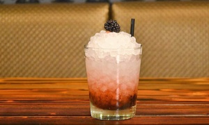 Front Toward Enemy: Upscale Pub Fare and Drinks at Front Toward Enemy (Up to 40% Off). Two Options Available.