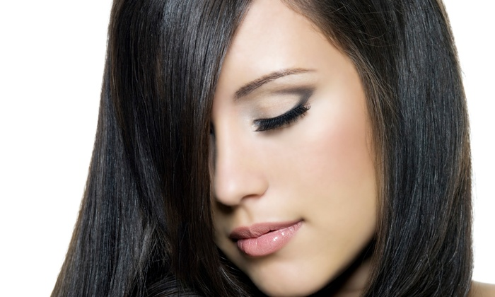 Yoomz Hair Studio - Spring Valley: One or Three Blowouts or a Haircut with Optional Color or Keratin Treatment at Yoomz Hair Studio (Up to 83% Off)