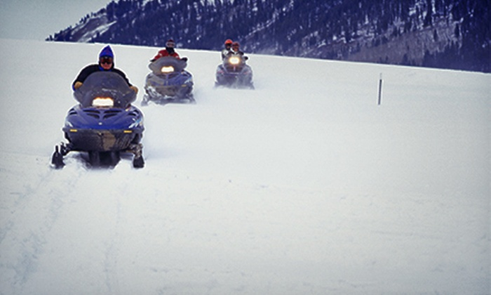 Elk Lake Resort - Bend: Snowmobile Rentals with Transportation to and from Elk Lake Resort (Up to Half Off). Three Options Available.