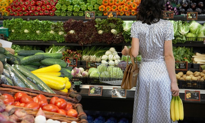 Family Fruit Market - Portage Park: $13.20 for $20 Worth of Groceries at Family Fruit Market