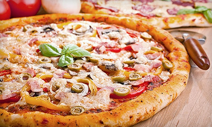 Boston Bay Pizza - Chicopee: $10 for $20 Worth of Pizza, Sandwiches, and Appetizers at Boston Bay Pizza