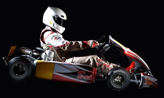 American Indoor Karting - Holland: Two or Three Adult or Junior Go-Kart Races at American Indoor Karting (Up to Half Off)