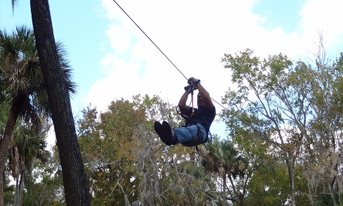 Ziplining And Aerial Adventure Experience For Two Or Four At Zoom Air Park Up To 34 Off
