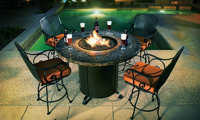 Out on the Patio - Lubbock: Patio Accents and Furniture at Out on the Patio (Up to 62% Off). Two Options Available.