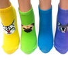 Girls Animal Prizm-Design Socks (6-Pack)