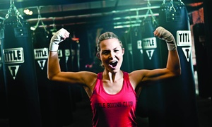TITLE Boxing Club - Ceder Hill, TX: $18 for Two Weeks of Unlimited Boxing and Kickboxing Classes at TITLE Boxing Club ($55 Value)