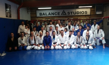 10 Brazilian Jiu-Jitsu Classes at Team Balance Harrisburg Bjj (50% Off)