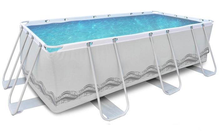 piscina rettangolare 4x2 metri groupon goods