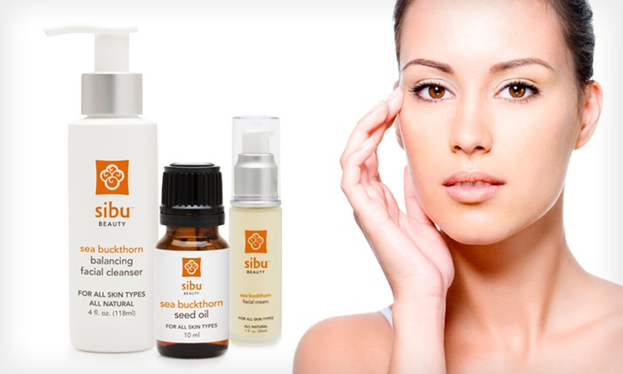 Sibu Beauty Sea-Buckthorn Face Regimen : $24 for a Sibu Beauty Sea-Buckthorn Facial Beauty Regimen ($54.85 List Price). Free Shipping and Free Returns.