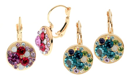 Bianca Stone Kaleidoscope Color Earrings
