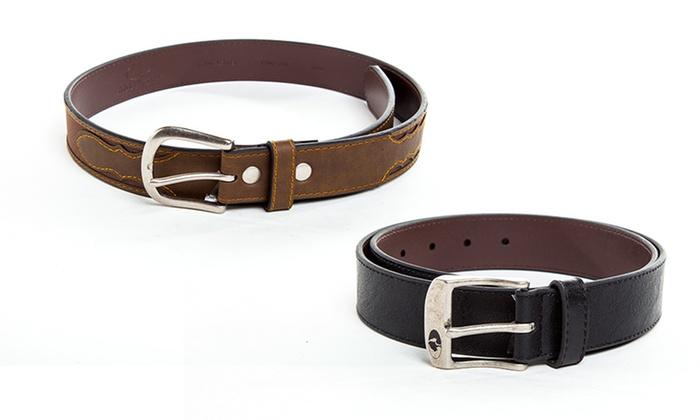 Mossy Oak Men's Casual Leather Belts: Mossy Oak Men's Casual Genuine Leather Belts. Multiple Sizes Available. Free Returns.