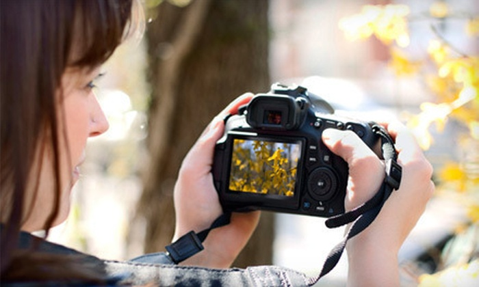 Photo Language - Calgary: Three- or Four-Hour Intro to Photography Class from Photo Language (Up to 72% Off)