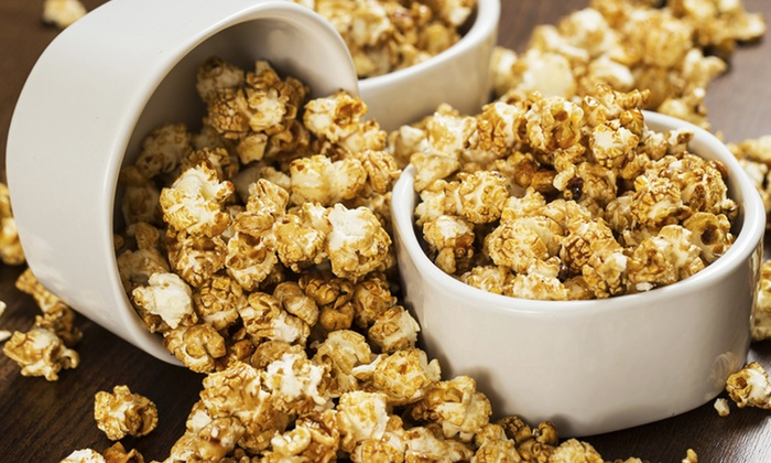 Poppin on Broadway - Waukesha: Gourmet Popcorn at Poppin on Broadway (50% Off)