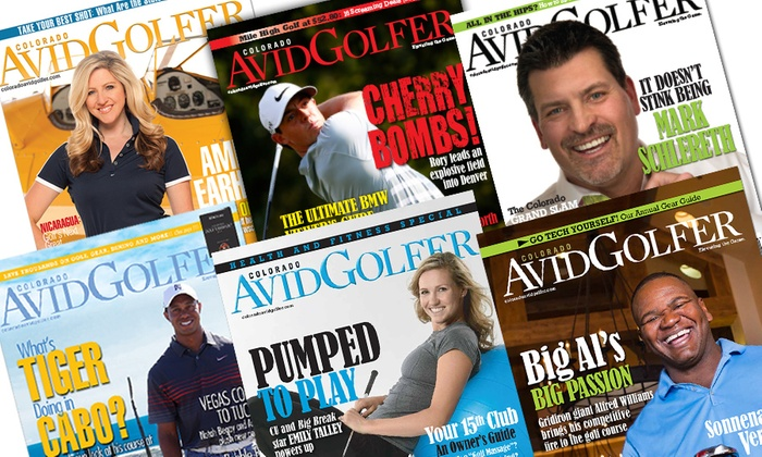 "Colorado AvidGolfer Magazine: $11 for a One-Year ""Colorado AvidGolfer"" Magazine Subscription ($20.95 Value)"