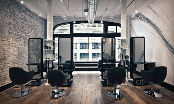Perry at Alibi 25 Salon - Midtown South Central: Haircut and Style with Optional Deep Conditioning at Perry at Alibi 25 Salon (61% Off)