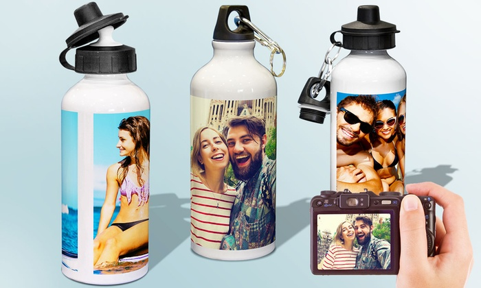 PrinterPix: One or Two Custom Water Bottles from Printerpix (Up to 68% Off). Free Shipping.