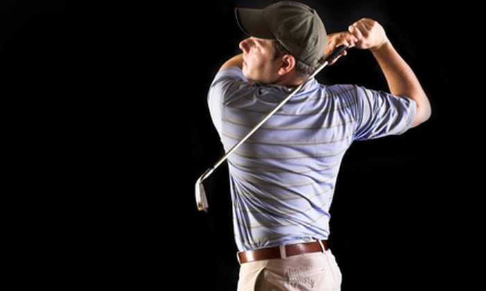 Studio Golf - Wilton: 18 Holes of Virtual Golf, or a 30-Minute Virtual-Golf Session and a 30-Minute Lesson at Studio Golf (Up to 62% Off)
