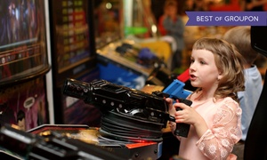 Family Fun Center XL: $5 Game Cards and Buffet Meals for Two, Four, or Six at Family Fun Center XL (Up to 50% Off)
