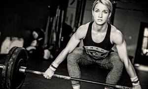 Dynamis CrossFit: Classes at Dynamis CrossFit (Up to 68% Off). Three Options Available.