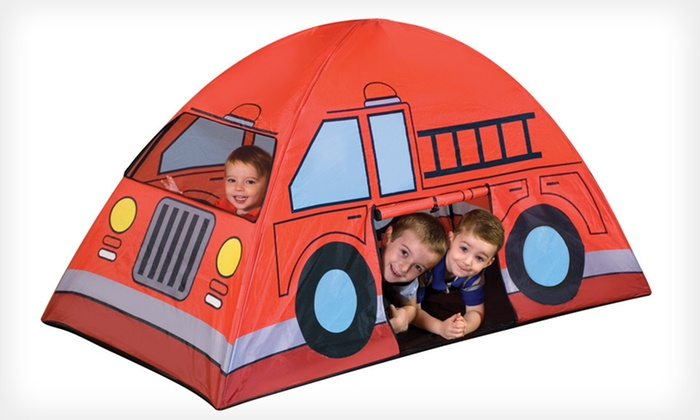 Kids' Indoor-Outdoor Play Tents: $17 for a Kids' Indoor-Outdoor Play Tent ($29.99 List Price). Three Styles Available. Free Shipping and Free Returns.
