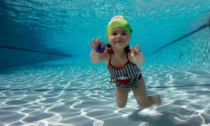 British Swim School: Two Swim Lessons Each Week for Four Weeks for One or Two Kids at British Swim School (Up to 51% Off)