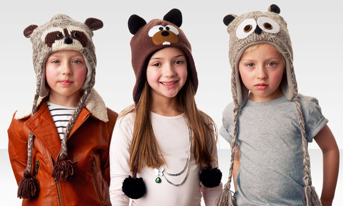 Kids' Knit or Fuzzy Animal Hats: Kids' Knit or Fuzzy Animal Hats. Multiple Styles Available. Free Returns.