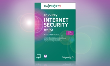 Kaspersky Internet Security for PCs 3-User License