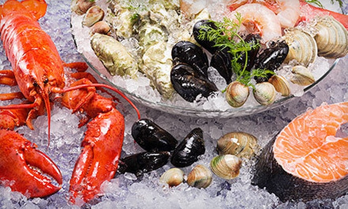 Water's Edge - Long Island City: $39 for a Seafood Platter with Beer, Wine, or Cocktails for Two at Water's Edge (Up to $90 Value)