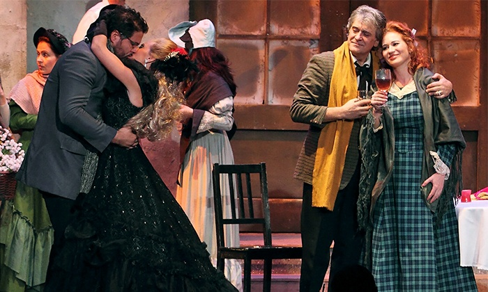 "Opera New Hampshire - The Palace Theatre: Opera New Hampshire's ""La Bohème"" at The Palace Theatre on February 14 at 7 p.m. (Up to 39% Off)"